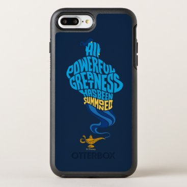 Aladdin | Genie - All Powerful Greatness OtterBox Symmetry iPhone 8 Plus/7 Plus Case