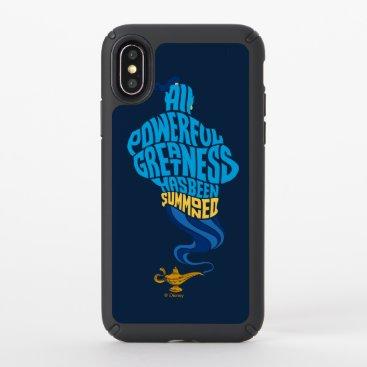 Aladdin   Genie - All Powerful Greatness Speck iPhone XS Case