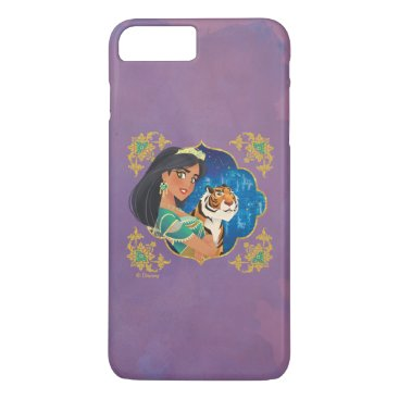 Aladdin   Jasmine And Raja Jewelled Graphic iPhone 8 Plus/7 Plus Case
