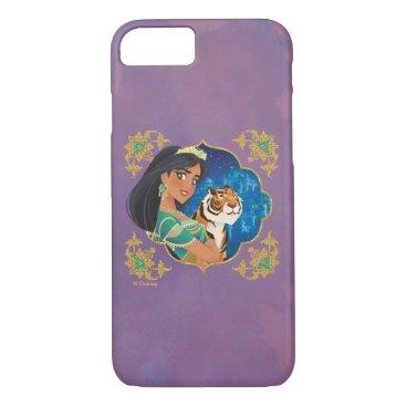 Aladdin   Jasmine And Raja Jewelled Graphic iPhone 8/7 Case