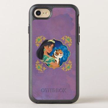 Aladdin   Jasmine And Raja Jewelled Graphic OtterBox Symmetry iPhone 8/7 Case