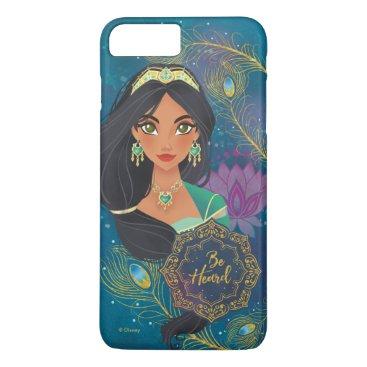 "Aladdin   Jasmine ""Be Heard"" iPhone 8 Plus/7 Plus Case"