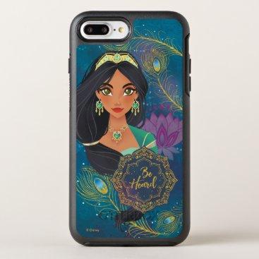 "Aladdin   Jasmine ""Be Heard"" OtterBox Symmetry iPhone 8 Plus/7 Plus Case"