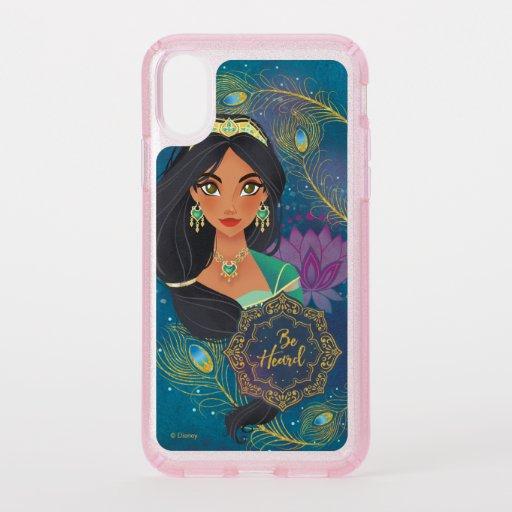 "Aladdin | Jasmine ""Be Heard"" Speck iPhone XS Case"
