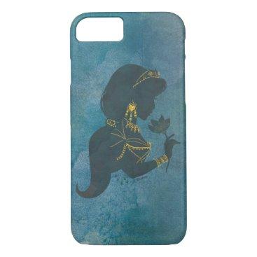 Aladdin   Jasmine Gilded Silhouette iPhone 8/7 Case