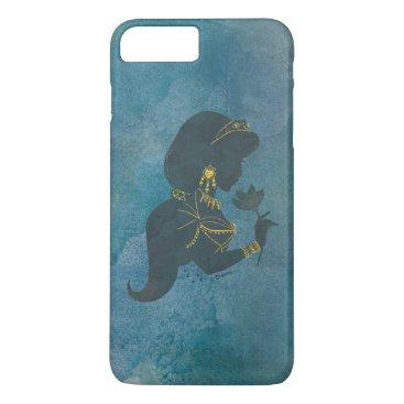 Aladdin   Jasmine Gilded Silhouette iPhone 8 Plus/7 Plus Case