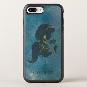 Aladdin   Jasmine Gilded Silhouette OtterBox Symmetry iPhone 8 Plus/7 Plus Case