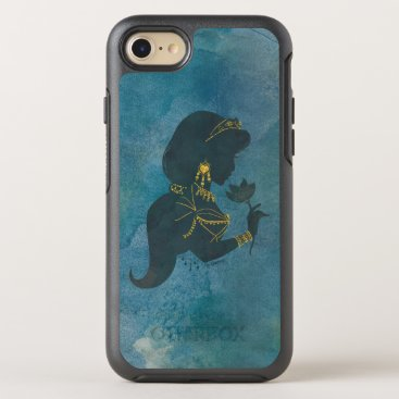 Aladdin | Jasmine Gilded Silhouette OtterBox Symmetry iPhone 8/7 Case