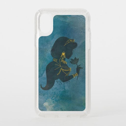 Aladdin | Jasmine Gilded Silhouette Speck iPhone XS Case