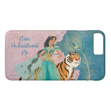 "Aladdin   Jasmine & Raja ""Never Underestimate Me"" iPhone 8 Plus/7 Plus Case"