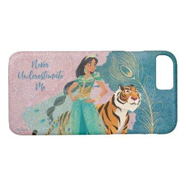 "Aladdin   Jasmine & Raja ""Never Underestimate Me"" iPhone 8/7 Case"