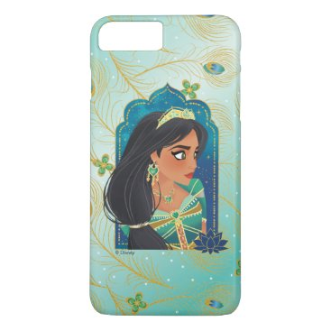 Aladdin   Jasmine Side Profile Graphic iPhone 8 Plus/7 Plus Case