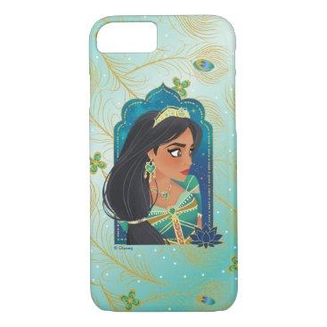 Aladdin   Jasmine Side Profile Graphic iPhone 8/7 Case