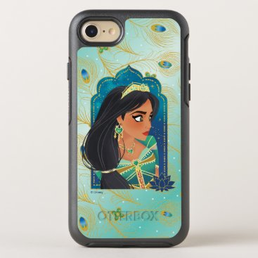 Aladdin | Jasmine Side Profile Graphic OtterBox Symmetry iPhone 8/7 Case