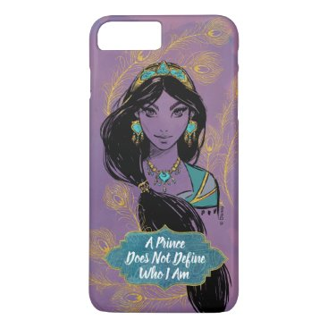"Aladdin   Jasmine ""Who I Am"" iPhone 8 Plus/7 Plus Case"