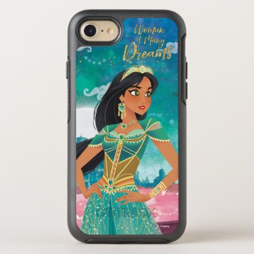 "Aladdin | Jasmine ""Woman of Many Dreams"" OtterBox Symmetry iPhone 8/7 Case"