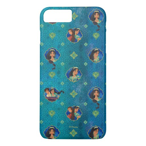 Aladdin | Jewelled Character Art Pattern iPhone 8 Plus/7 Plus Case