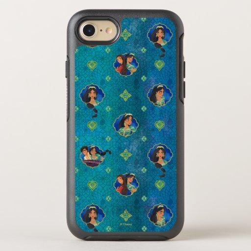 Aladdin | Jewelled Character Art Pattern OtterBox Symmetry iPhone 8/7 Case