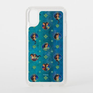 Aladdin | Jewelled Character Art Pattern Speck iPhone XS Case