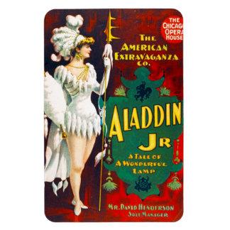 Aladdin Jr, Premium Magnet