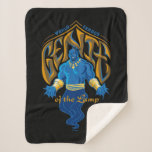 Aladdin | World Famous Genie of the Lamp Sherpa Blanket