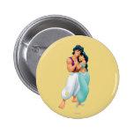 Aladdin y jazmín que abrazan 2 pin