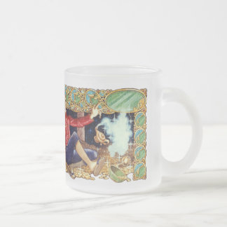 Aladdin's Lamp Frosted Mug