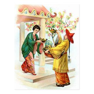 Aladdin's Lamp Post Card