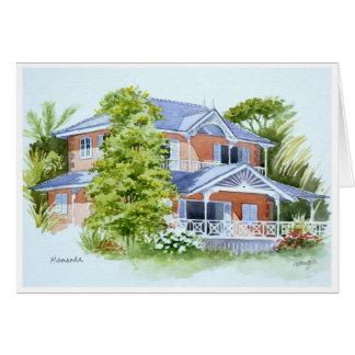 Alamanda, Stonehaven Bay. Tobago Greeting Card