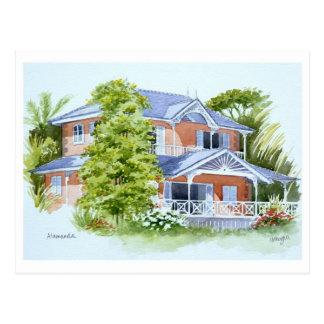Alamanda, Stonehaven Bay. Tobago Postcard