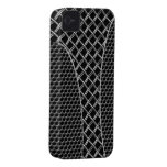 alambre 3D del carbono del caso del iPhone 4 Case-Mate iPhone 4 Cárcasa