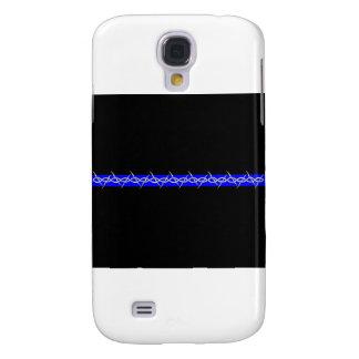 Alambre de púas Blue Line de las correcciones Funda Para Galaxy S4