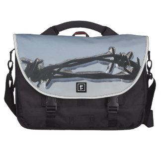 Alambre de púas bolsas para portatil