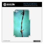 alambre de púas CONTRA EL ABS AL AZAR del FONDO de Skins Para iPod Touch 4G