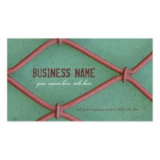 Alambres Crocheted - tarjeta de visita