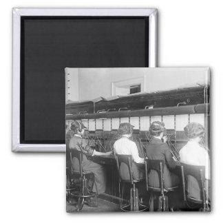 Alambres cruzados: 1914 imán cuadrado