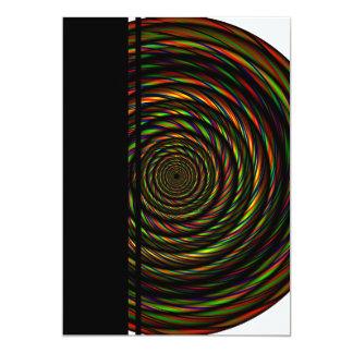 """Alambres torcidos del RGB Invitación 5"""" X 7"""""""