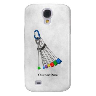 Alambres y cangrejo de la protección de Natual de Samsung Galaxy S4 Cover
