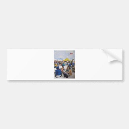 Alameda Antique Pointe Faire Car Bumper Sticker