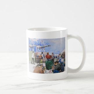 Alameda Antique Pointe Faire Coffee Mug