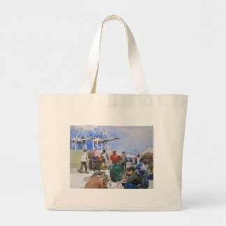 Alameda Antique Pointe Faire Large Tote Bag
