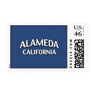 Alameda California Postage Stamp