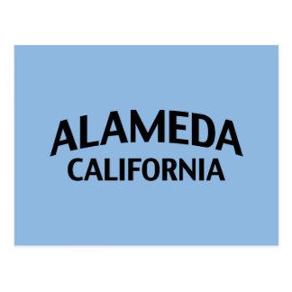 Alameda California Tarjeta Postal