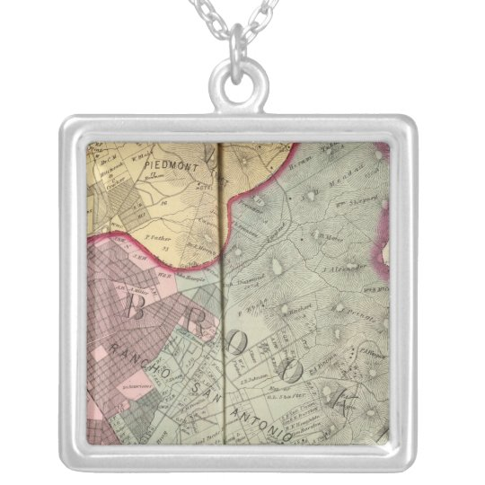 Alameda Co 2 Silver Plated Necklace