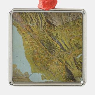 Alameda County, California Metal Ornament