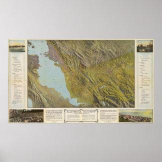 Alameda County, California Poster
