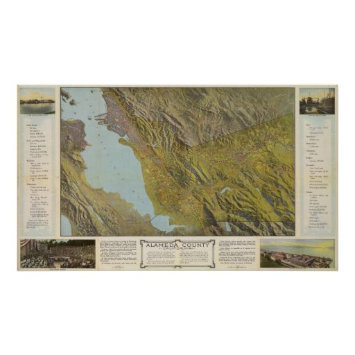 Alameda County, California Posters