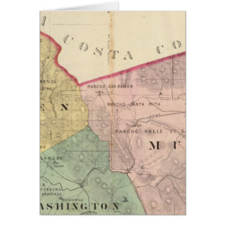 Alameda County map Card