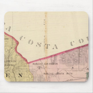 Alameda County map Mouse Pad