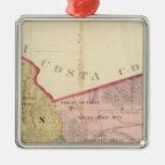 Alameda County map Ornament
